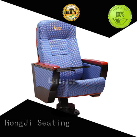 fabric movable auditorium seating with classroom HONGJI
