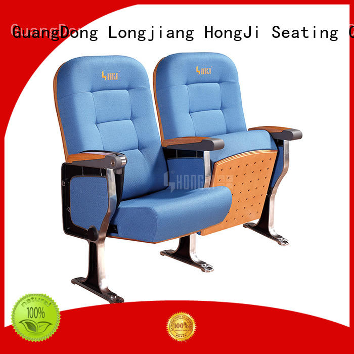 HONGJI newly style church seating chairs supplier for sale