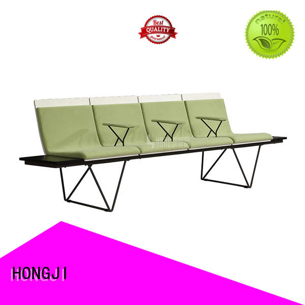 durable in use waiting bench h60e3 public seating solution for hosiptal
