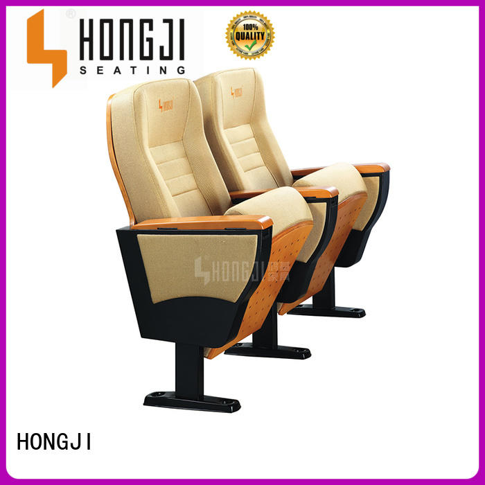 HONGJI theater cinema hall chairs writing student