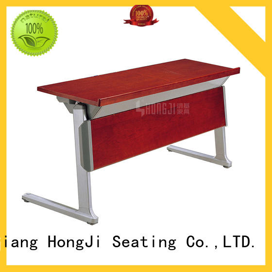 HONGJI foldable office table and chairs from China for school