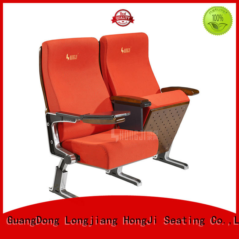 HONGJI armchair red leather theater seats writing office