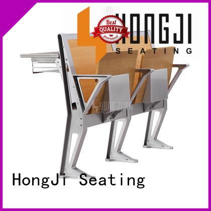 HONGJI ISO9001 certified school table chair supplier for university