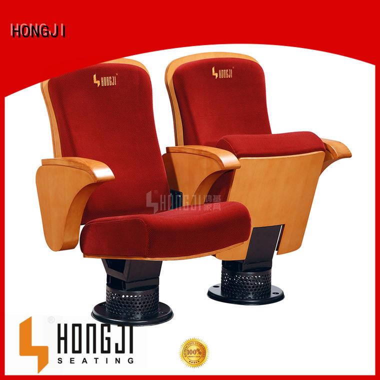 HONGJI Brand hj803f hj9941b folding lecture theatre chairs