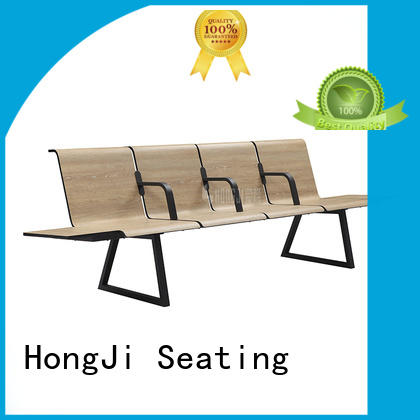 European style waiting bench h63a4t public seating solution for travel terminal