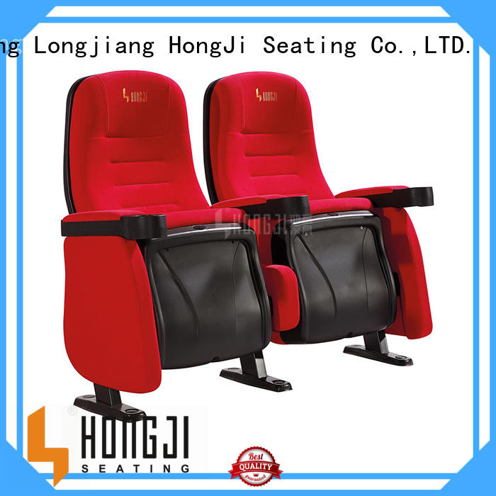 HONGJI oem theater chairs competitive price for sale