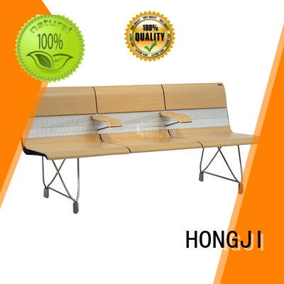 HONGJI h63b4t waiting bench fine workmanship for bank