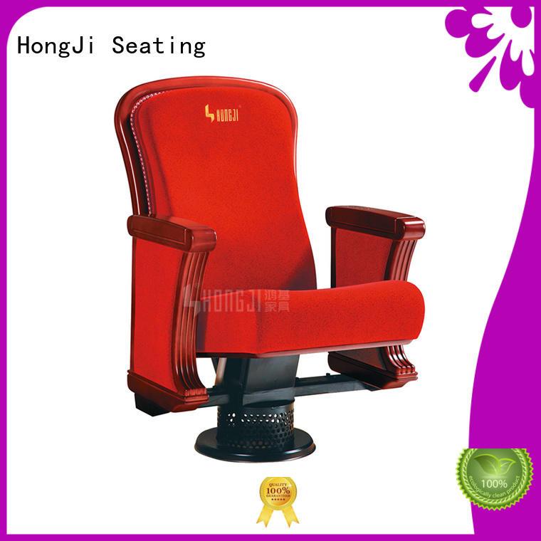 HONGJI red auditorium chair writing for