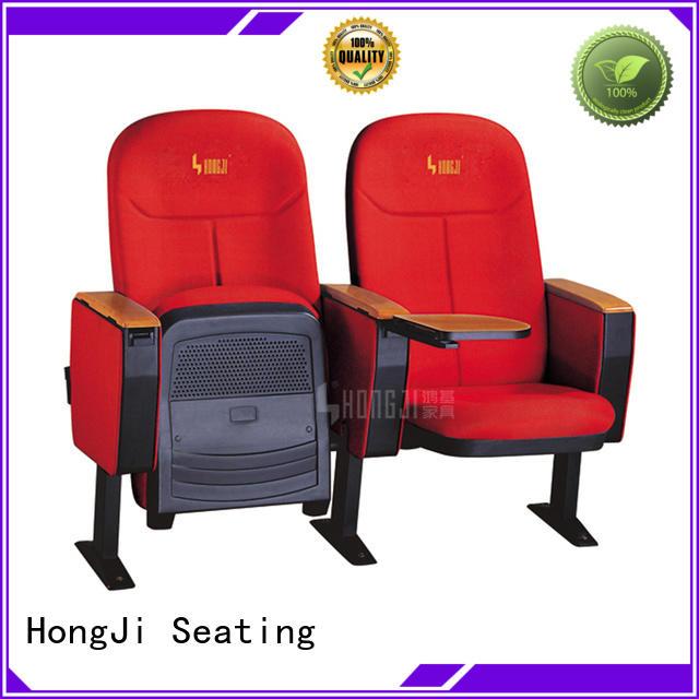 HONGJI Brand wood hj9604 auditorium chairs space factory