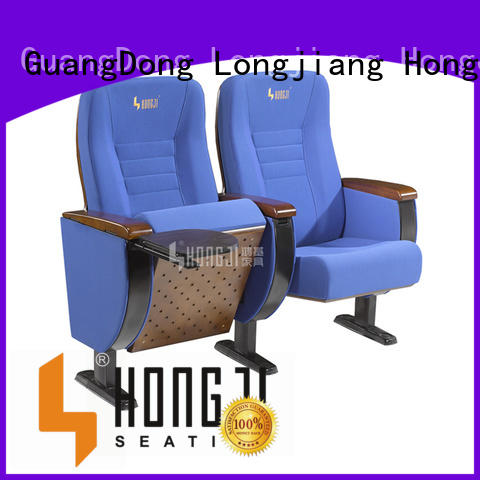 HONGJI red theater seating factory for office furniture