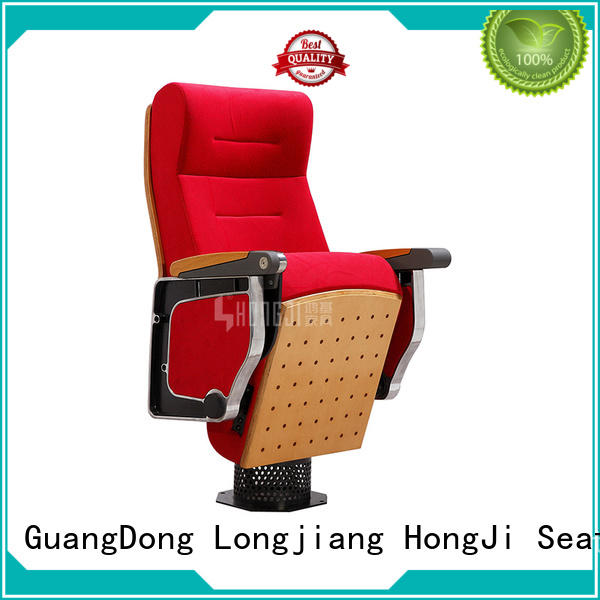 HONGJI high-end commercial theater seating manufacturers supplier for university classroom