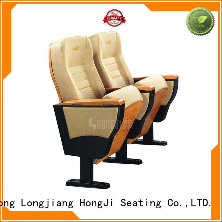 HONGJI newly style 4 person theater seating supplier for office furniture