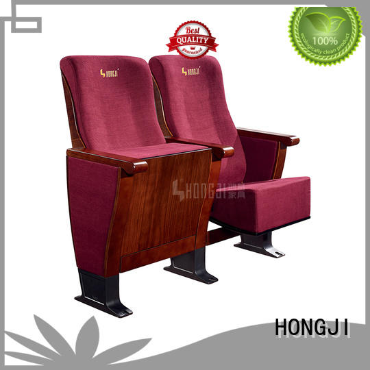 HONGJI newly style media room theater seating manufacturer for university classroom