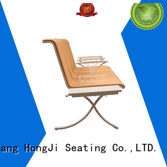 HONGJI h72d3 waiting room chairs public seating solution
