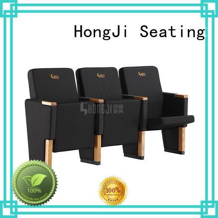 HONGJI church auditorium chairs factory for sale