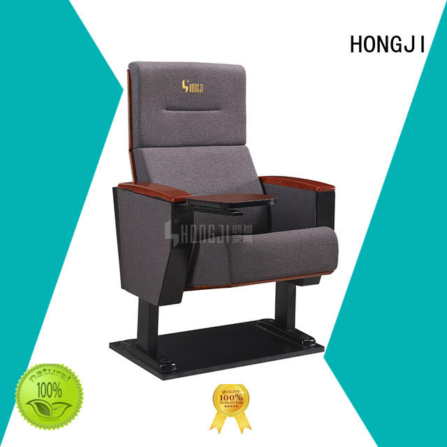 HONGJI excellent auditorium theater seating factory for sale