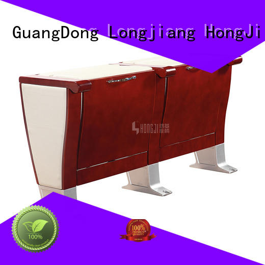 HONGJI 5 seat theater seating manufacturer for office furniture