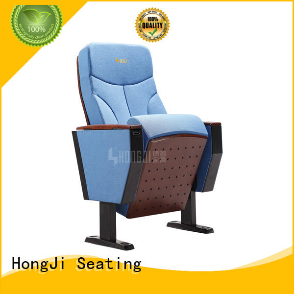 HONGJI unparalleled stadium theater seating furniture factory for sale