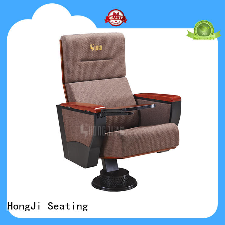 HONGJI high-end auditorium seat supplier for sale