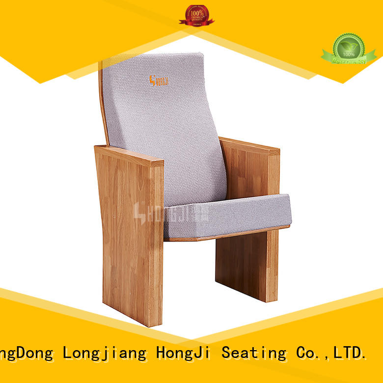 HONGJI high end theater seating supplier for cinema