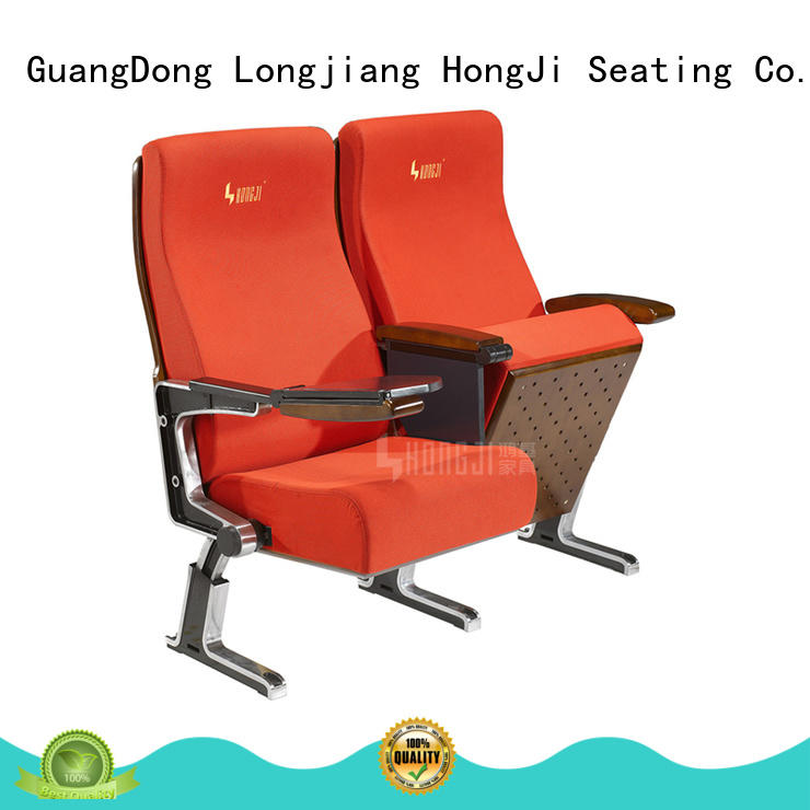 HONGJI theater seating design elegant for sale