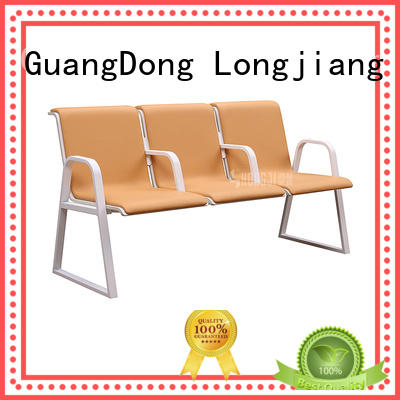 HONGJI durable in use reception chairs public seating solution for travel terminal