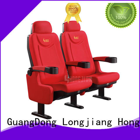 HONGJI exquisite home cinema chairs competitive price for importer