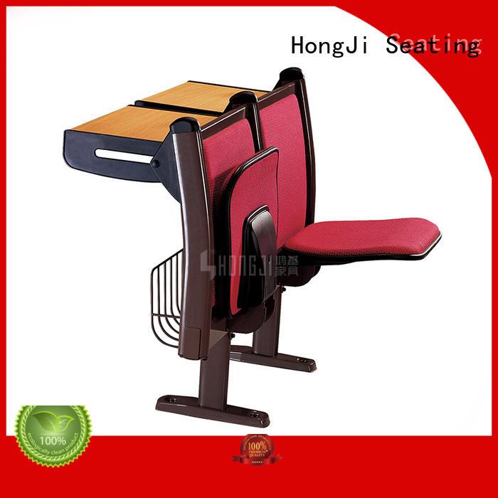 HONGJI tc922d school desk and chair set for university