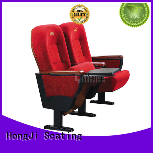 HONGJI newly style auditorium seating design standards manufacturer for cinema