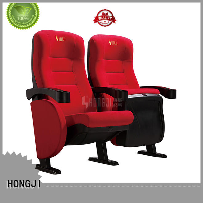 HONGJI elegant moving chairs movie theaters factory for theater