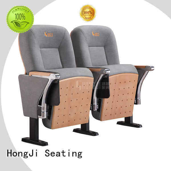 HONGJI outstanding durability black theater chairs manufacturer for office furniture