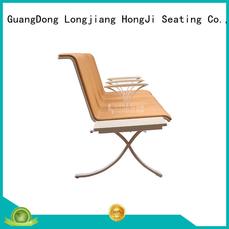 HONGJI h63a4ft modern reception chairs for airport