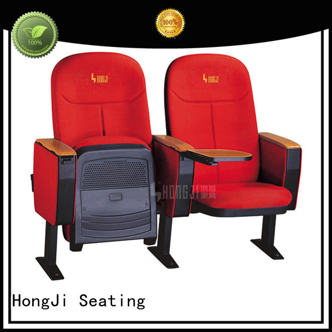 Cheap auditorium chairs with writing boards HJ09A