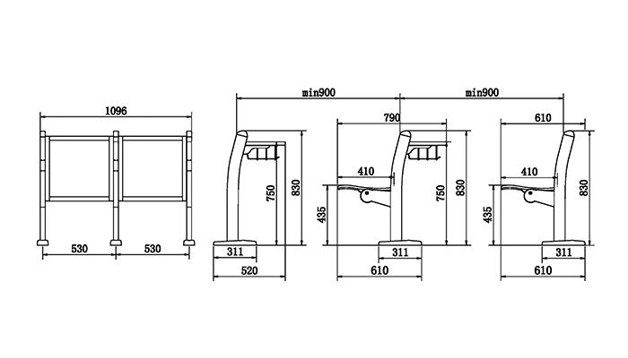HONGJI tcc12btcz12 innovative classroom furniture supplier for school-1
