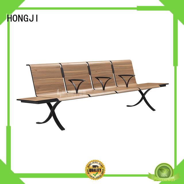 HONGJI h63d3 waiting room bench seating design for hosiptal