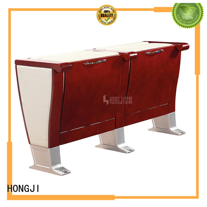 HONGJI newly style small theater chairs factory for sale
