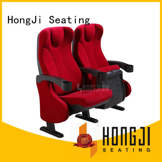 HONGJI exquisite movie chairs factory for sale