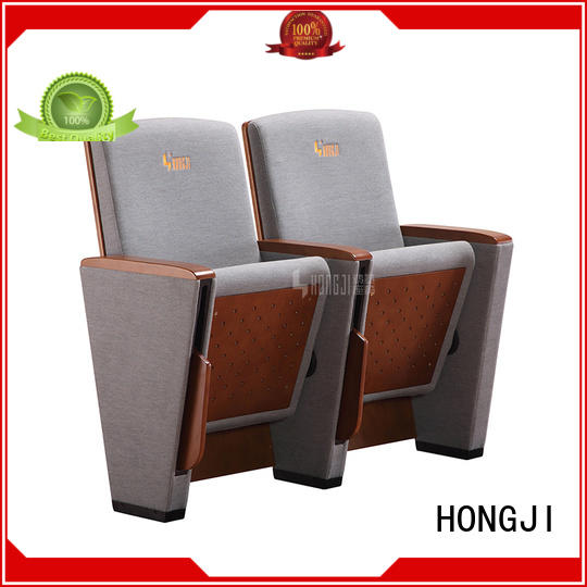 HONGJI newly style 4 person theater seating manufacturer for student