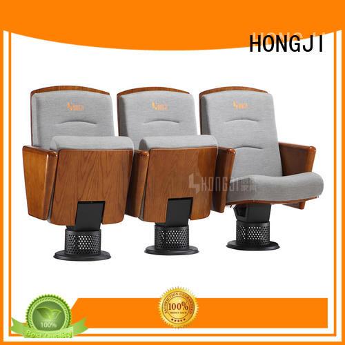 professional luxury auditorium theater chair hall cinema HONGJI