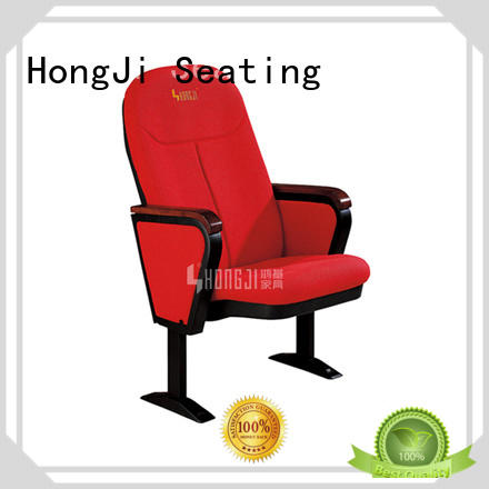 Hot lecture theatre chairs hj8008 HONGJI Brand