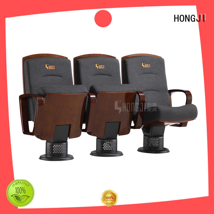 HONGJI newly style 3 seat theater chairs factory for office furniture