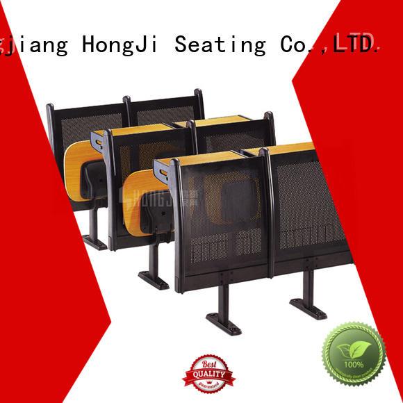 HONGJI ergonomic study desk and chair manufacturer for university