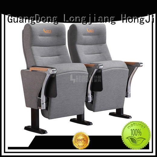 HONGJI red theater seating manufacturer for cinema