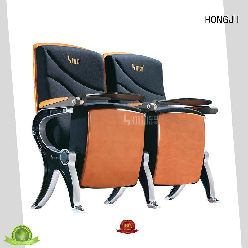 HONGJI theater chair dimensions factory for university classroom