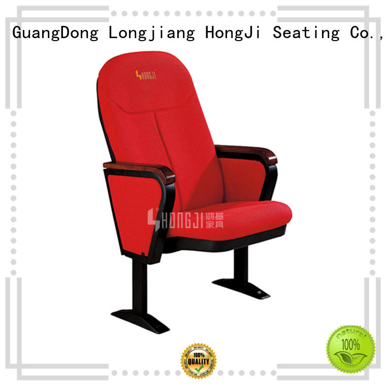 HONGJI outstanding durability cinema hall chairs factory for cinema