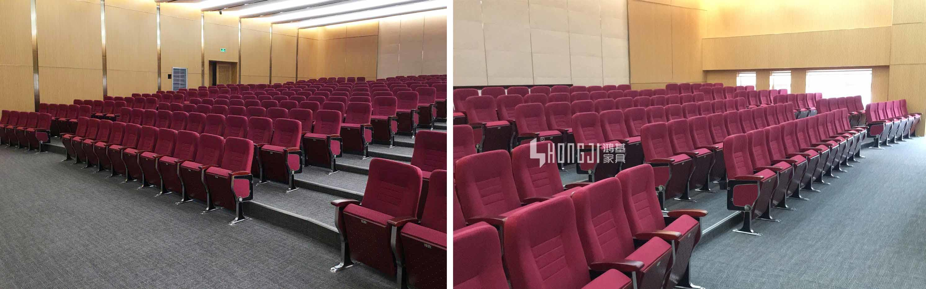 HONGJI elegant stadium theater seating furniture manufacturer for cinema-2