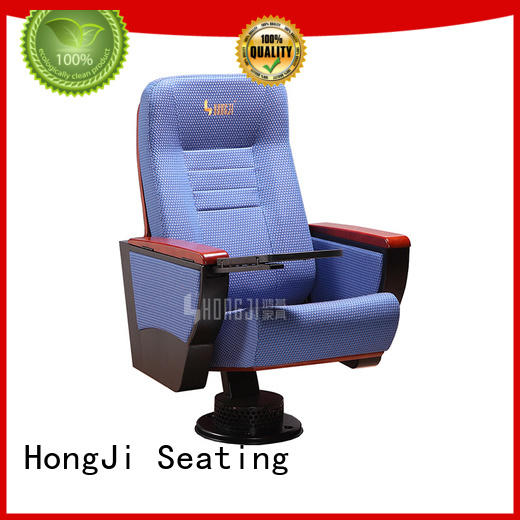 HONGJI 2 seat theater seating manufacturer for office furniture