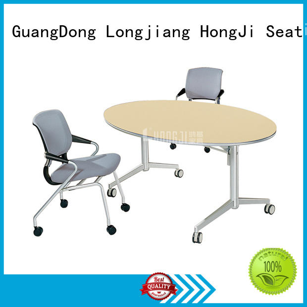 HONGJI foldable office furniture exporter for classroom