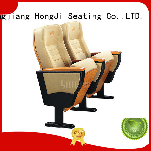 HONGJI 3 seat theater seating manufacturer for cinema