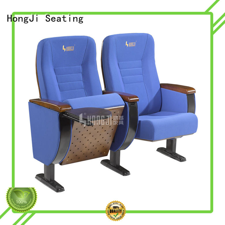 HONGJI outstanding durability best church chairs factory for cinema